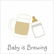 baby is brewing baby shower theme
