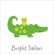 bright safari theme
