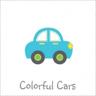 transportation colorful cars boy birthday theme