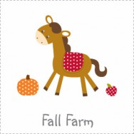 Fall Farm Baby Shower Invitations