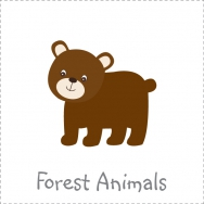 forest friends theme