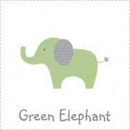 Green Polka Dot Elephant Baby Shower