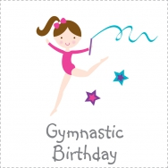 gymnastics birthday theme