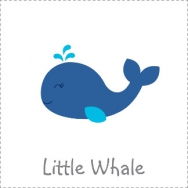 little whale nautical theme