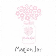 Mason Jar Baby Shower Theme