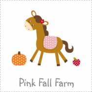 Pink Fall Farm Baby Shower Invitations