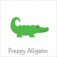 preppy alligator theme