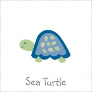sea turtle nautical theme