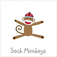 sock monkey theme