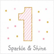 sparkle and shine birthday theme